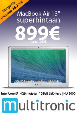 Multitronic: Apple MacBook Air 13 ""