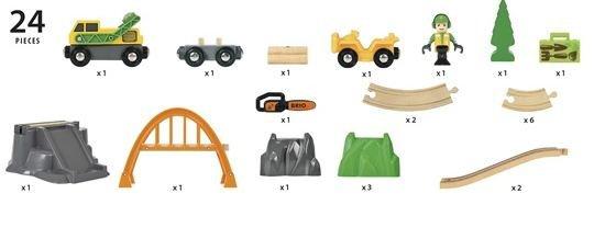 BRIO Lumber Loading Set, 61€  Hinta fi